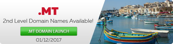 Introduction Of Second Level .MT Domain Names (Malta)