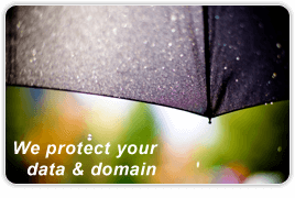 Domain name and data always under control