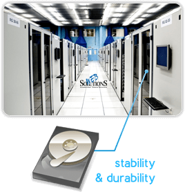 Our servers provide stability and durability of services